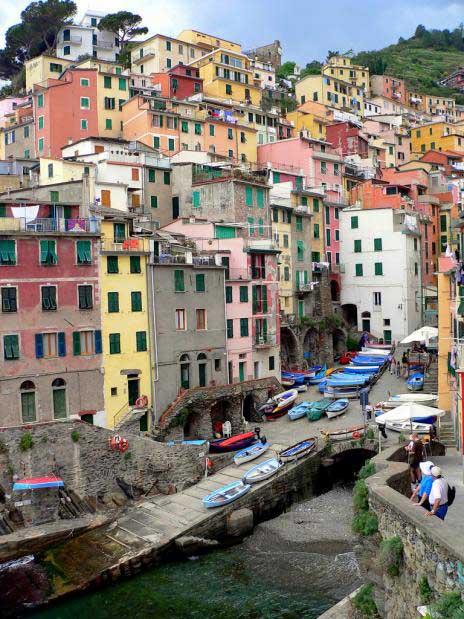 Riomaggiore, Liguria, Italia