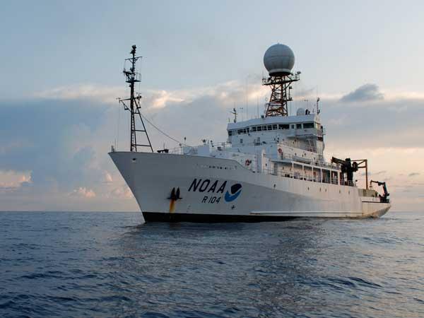 buque oceanográfico Ronald H. Brown
