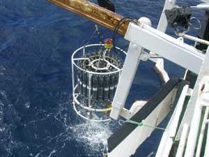 roseta oceanográfica
