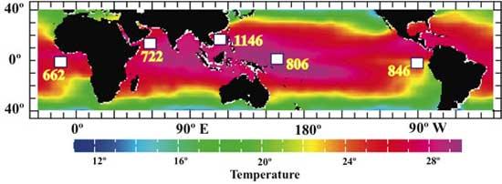 recogida de muestras en los sedimentos marinos