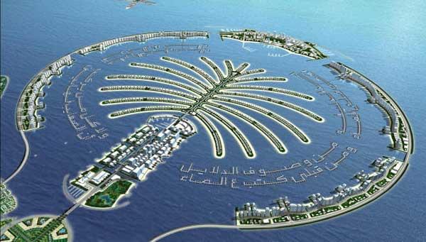 Isla artificial The Palm, Dubai