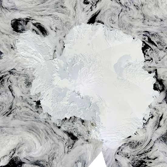 Mosaico completo de la Antártida
