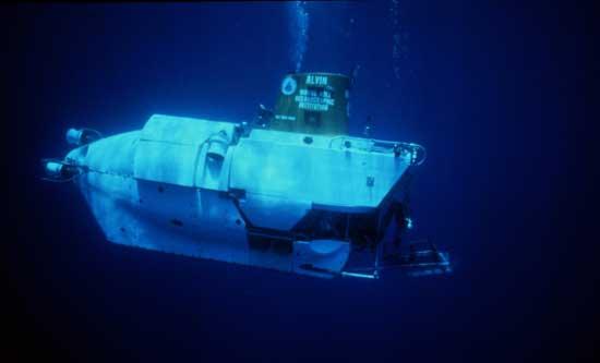 vehículo submarino Alvin, WHOI