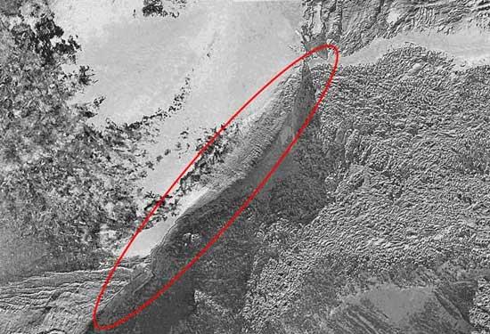 Arca de Noé, anomalía de Ararat