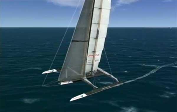 bmw oracle gana primera regata