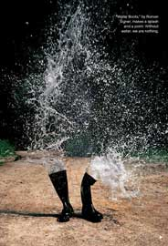 botas de agua, somos agua