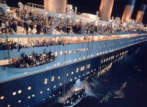 botes del Titanic