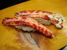 carne de cangrejo araña gigante japonés