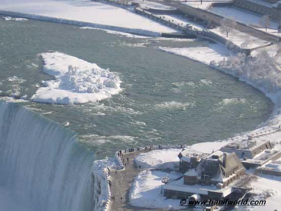 cataratas Niágara lado Canadá, invierno