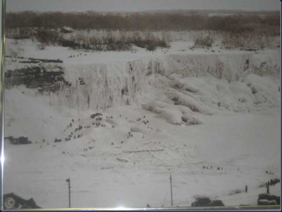 cataratas Niágara congeladas, 1911