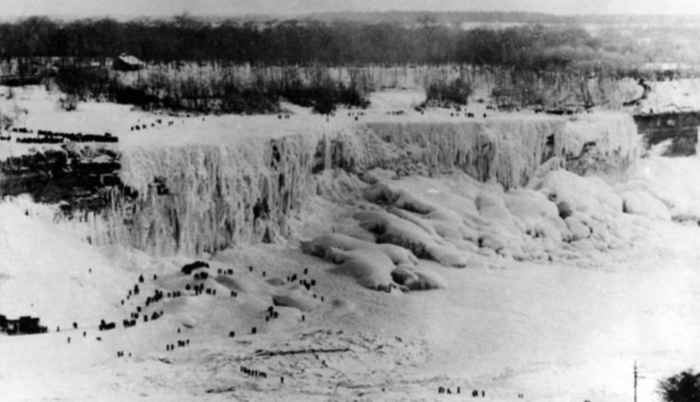 cataratas Niágara congeladas