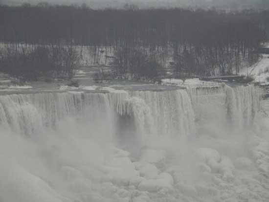 cataratas Niágara congeladas, sin fecha