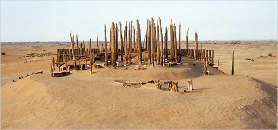 cementerio de Río Pequeño, Xinjiang - China