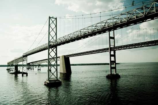puente bahía de Chesapeake