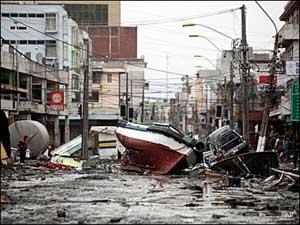 Chile tras el tsunami en Talcahuano
