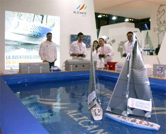 cocineros haciendo regata en FITUR