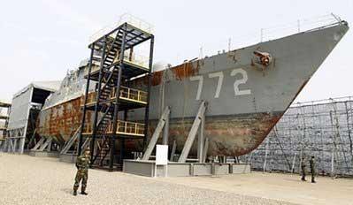 corbeta Cheonan 772