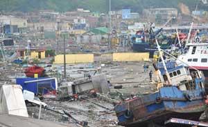 costa de Chile después del tsunami febrero 2010