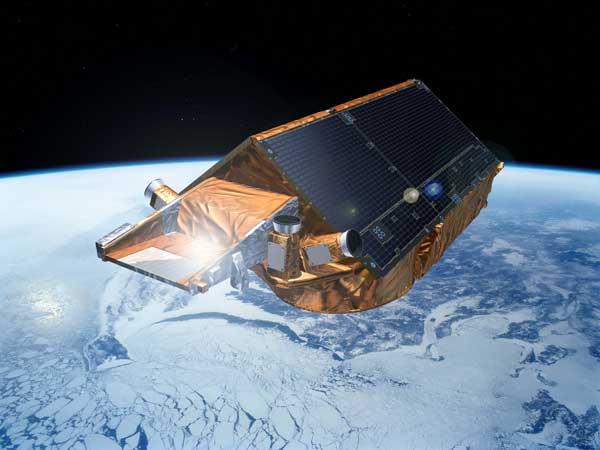 cryosat-2 mide capa de hielo