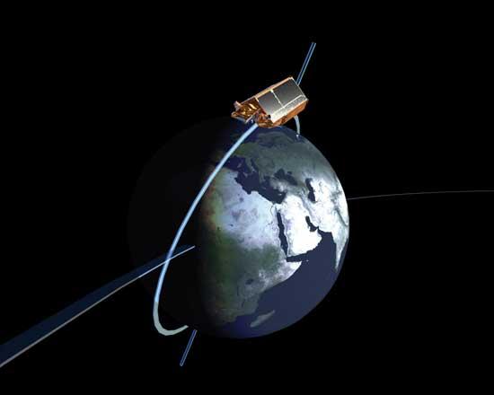 cryosat-2, orbita del globo terráqueo