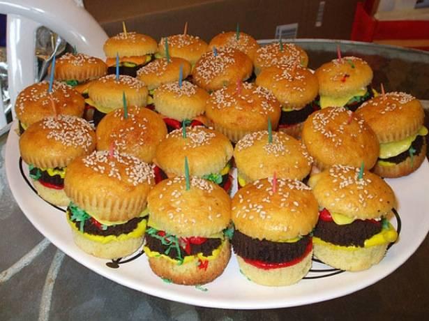 Pastas de café Burger