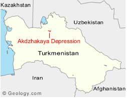 depresión de Akdzhakaya