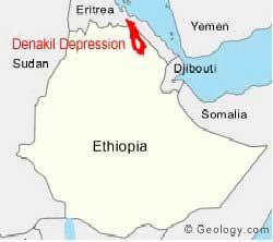 depresión Denakil