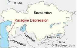 depresión de Karagiye