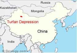 depresión de Turfan