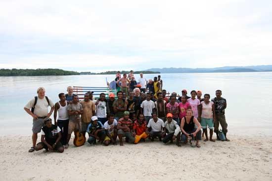 dive resort Papua, Scubasigns