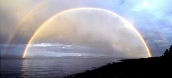 doble arcoiris, Puerto Susan Stanwood
