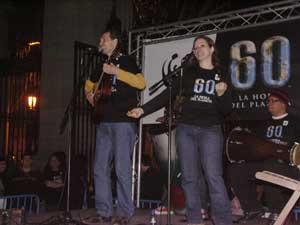 duo Shivaritas, hora planeta actuación a oscuras