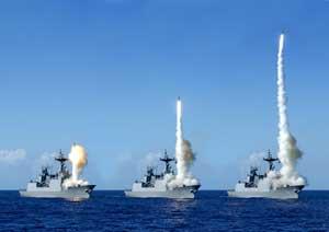 ejercicio naval de misiles surcoreano