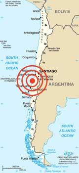 epicentro terremoto Chile