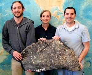 equipo de David Valentine, volcanes de asfalto