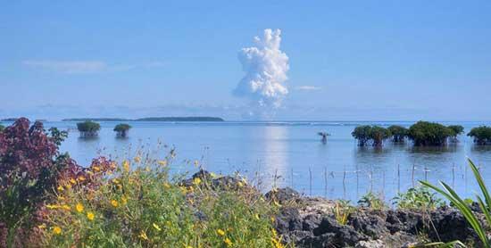 erupción volcán prehistoria