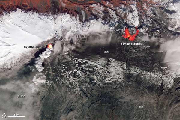 Eyjafjallajökull 19-04-2010 Fimmvörduháls