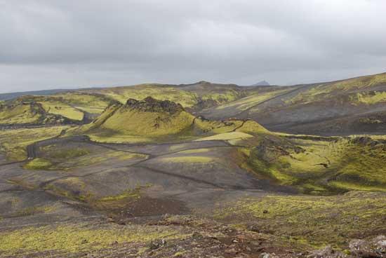 fisura Laki, Islandia