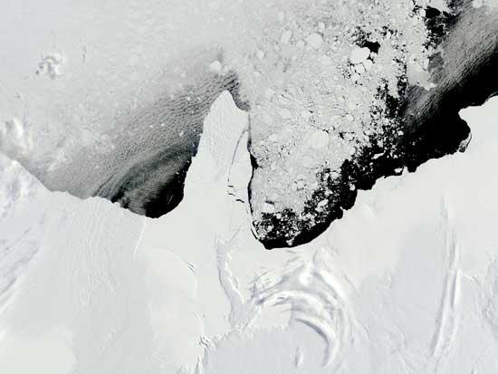 Formación Icebergs Antártida