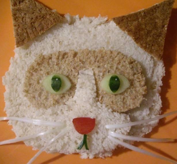 gato sándwich