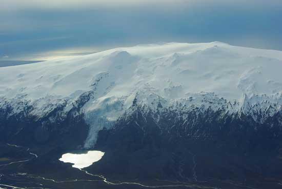 glaciar Eyjafjallajoekull, Islandia