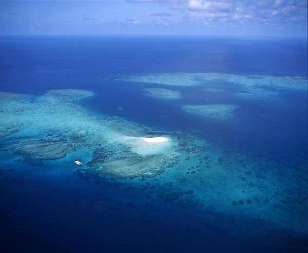 Gran Barrera de coral en Queensland