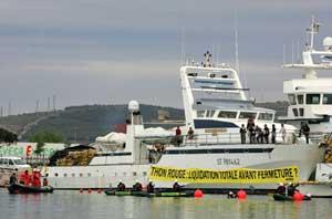 Greenpeace, acción de Frontignan