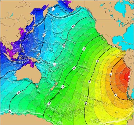 hipotético nuevo tsunami en Chile