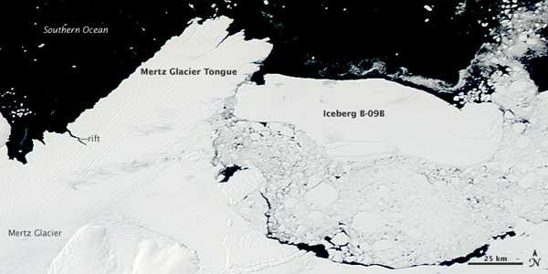 Iceberg glacial Mert 7-02-2010