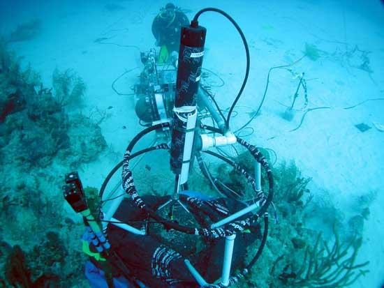 instrumento estación Aquarius