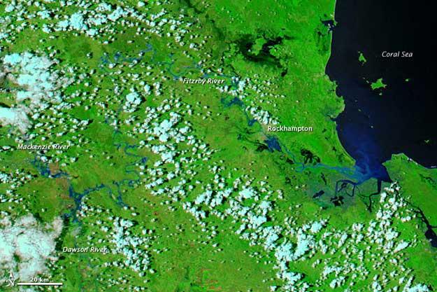 Cuenca río Fitz Roy, Australia diciembre 2010