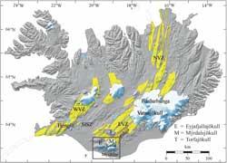 Islandia,  volcán Katla