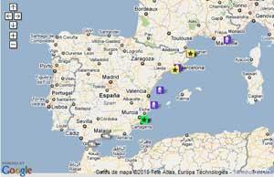 jellywatch, Google maps
