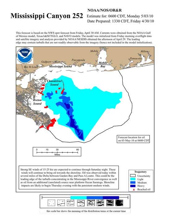 mapa desarrollo marea negra, 3-5-2010